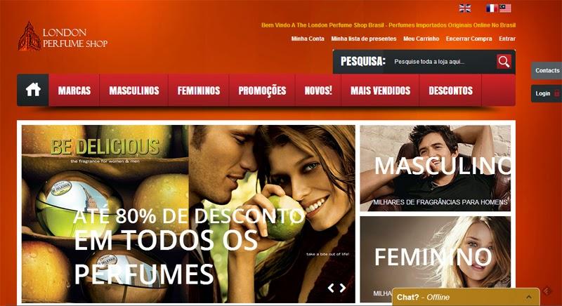 Empresas e Marcas – London Perfume Shop Brazil – Perfumes Importados