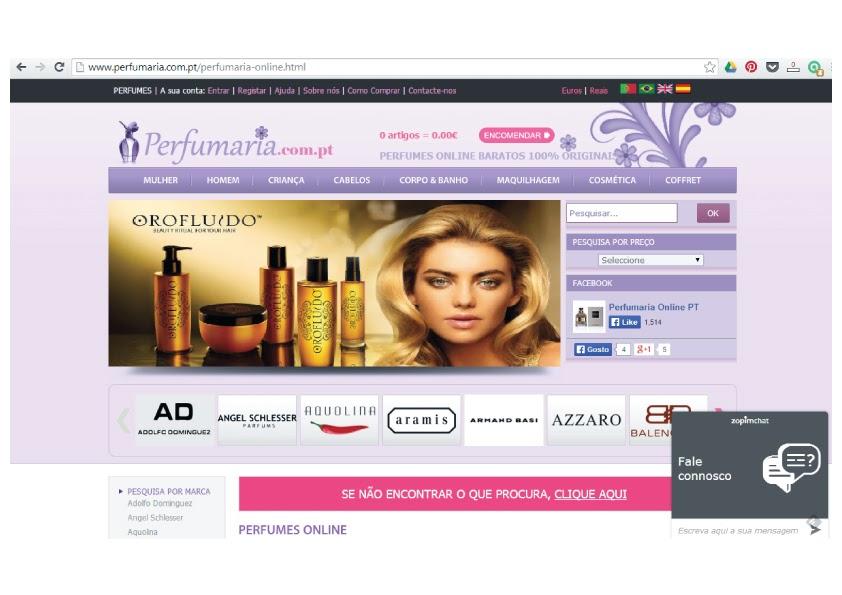 Empresas e Marcas: Perfumaria.com.pt