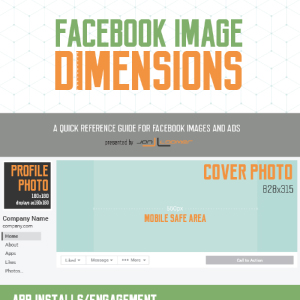Facebook – dimensões imagens
