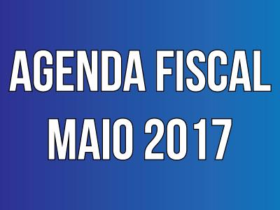 Agenda Fiscal – Maio 2017