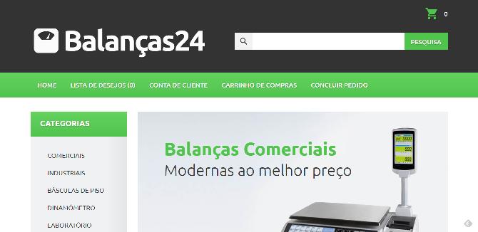 Balancas24 – Loja online de Balanças