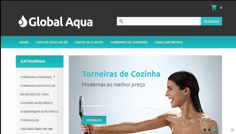 Global Aqua – Loja Online de Torneiras