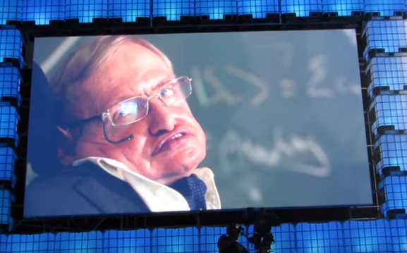 web summit 2017 – Stephen Hawking