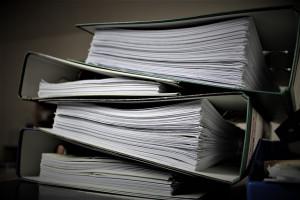 facturas em papel